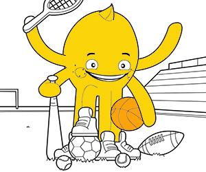 Sports and Adventure coloring pages