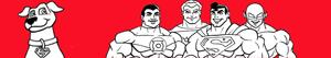 Super Friends coloring pages