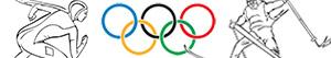 Olympic Winter Games coloring pages